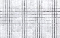 Textura inconsútil del fondo del pequeño embaldosado blanco Imagenes de archivo