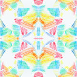 Textura inconsútil del Grunge de movimientos en colores pastel Dibuja con creyón el fondo abstracto inconsútil del grunge Element Fotos de archivo libres de regalías
