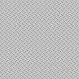 Textura inconsútil del metal de la placa del diamante Foto de archivo libre de regalías