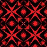 Textura inconsútil del modelo Estructura moderna roja Imagen de archivo