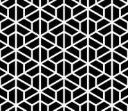Textura inconsútil del modelo del hexágono Fondo clásico abstracto stock de ilustración