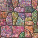 Textura inconsútil del mosaico de piedra Fotografía de archivo libre de regalías