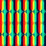 Textura inconsútil del Rhombus brillante del vintage con efecto del grunge Foto de archivo libre de regalías