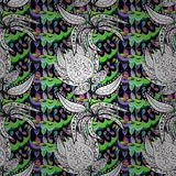 Textura inconsútil del vector Foto de archivo