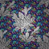 Textura inconsútil del vector Fotografía de archivo
