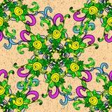 Textura inconsútil del vector Foto de archivo libre de regalías