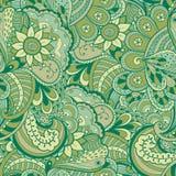 Textura inconsútil del vector con las flores abstractas Fotografía de archivo libre de regalías