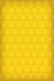 Textura inconsútil del vector en el oro Imágenes de archivo libres de regalías
