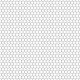 Textura inconsútil del vector del hexágono Modelo hexagonal de la repetición de la rejilla libre illustration