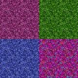 Textura inconsútil determinada de rizos coloridos Foto de archivo