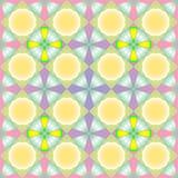 Textura inconsútil en colores pastel de las flores Foto de archivo libre de regalías