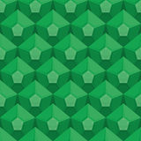 Textura inconsútil esmeralda Gem Background Ornamento verde del vector Fotografía de archivo libre de regalías