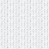 Textura inconsútil hecha punto blanco Imagenes de archivo