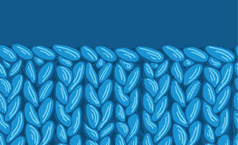 Textura inconsútil horizontal del modelo de la tela de punto del sewater Imagenes de archivo
