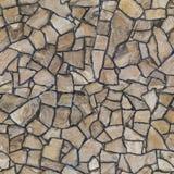 Textura inconsútil la pared de piedra La albañilería de la pared de piedra, trasera foto de archivo libre de regalías