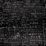 Textura inconsútil matemática del vector Fotografía de archivo