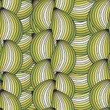 Textura inconsútil vertical del vector con las ondas stock de ilustración