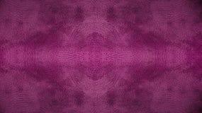 Textura inconsútil de cuero rosada púrpura usada del fondo del modelo para el material de los muebles Foto de archivo libre de regalías
