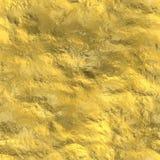 Textura inconsútil del oro Fotografía de archivo