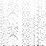 Textura indiana tradicional da tela preto e branco com testes padrões Imagem de Stock Royalty Free