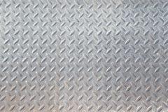 Textura industrial suja lustrada gasta do fundo da placa do verificador Foto de Stock