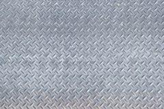 Textura industrial suja lustrada gasta do fundo da placa do verificador Imagens de Stock