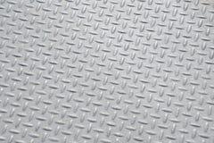 Textura industrial suja lustrada gasta do fundo da placa do verificador Imagem de Stock Royalty Free