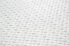 Textura industrial suja lustrada gasta do fundo da placa do verificador Fotografia de Stock