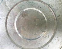 Textura inferior del cubo de acero Fotos de archivo