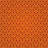 Textura infinita Geométrico sem emenda Patternt do círculo do triângulo Imagem de Stock