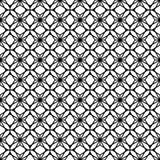Textura infinita Projetos preto e branco do vetor Foto de Stock