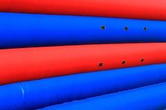 Textura inflável da parede de Playset Foto de Stock