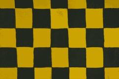 Textura interessante de um tabuleiro de xadrez fotos de stock royalty free