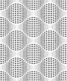 Textura iridiscente con Dots Vector Seamless Pattern Fotos de archivo libres de regalías