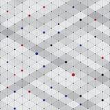 Textura isométrica à moda moderna abstrata do teste padrão, Three-dimensi Fotos de Stock Royalty Free
