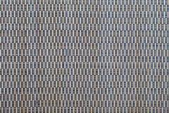 Textura japonesa de la estera del suelo del tatami Fotografía de archivo libre de regalías