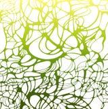 Textura líquida colorida do vetor Fundo abstrato do verde do inclinação Fotografia de Stock Royalty Free