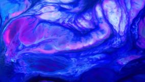 Textura líquida del concepto de los arty del modelo de la pintura abstracta del color almacen de video