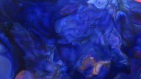 Textura l?quida del concepto de los arty del modelo de la pintura abstracta del color metrajes