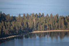 Textura Lake Tahoe da água Fotografia de Stock