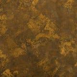 Textura lavada ácido de la impresión del cuero de Brown Fotografía de archivo