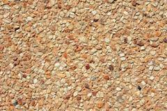 Textura lavada del piso de la grava Foto de archivo