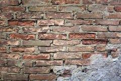 Textura: levantamiento de muros Foto de archivo libre de regalías
