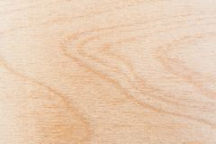 Textura ligera de la madera contrachapada del abedul, fondo abstracto Foto de archivo