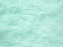 Textura ligera de la pared de la turquesa para el fondo Foto de archivo libre de regalías