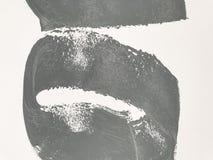 Textura ligera real de la pared de la pintura del color de Gray Greenish fotografía de archivo