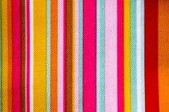 Textura linear de la tela Fotografía de archivo