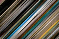 Textura linear del fondo de la pendiente Foto de archivo libre de regalías