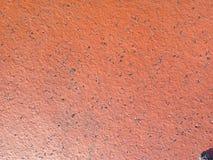 Textura lisa do tijolo vermelho Foto de Stock Royalty Free