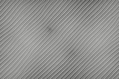 Textura listrada acanelado de uma placa de metal preto e branco ilustração royalty free